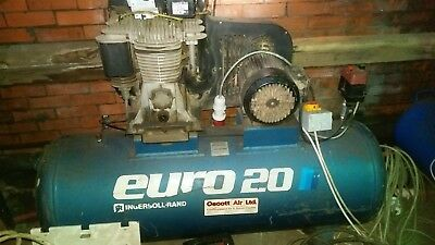 Ingersoll Rand Euro 20 Two Stage Air Compressor 3 Phase 3kw 300