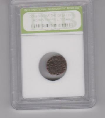 Slabbed Roman Imperial Constantine The Great Bronze Coin c.300 A.D.