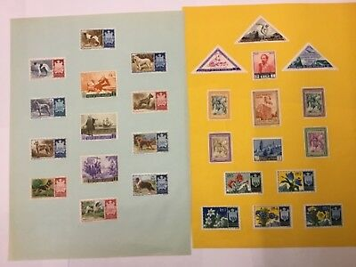 MIXED LOT OLD UNUSED (mint) stamps SAN MARINO