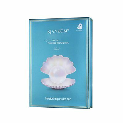 Pearl Mask Brightening Silk Mask Hydrating And Nourishing Radiance WU