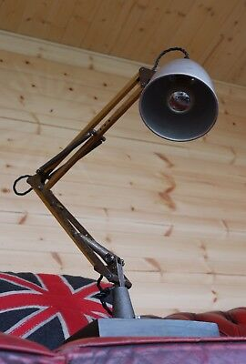 1209 b Short Arm Herbert Terry Anglepoise Desk Lamp