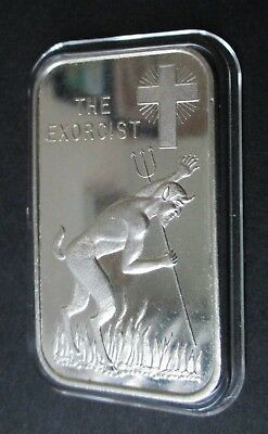 The Exorcist 1974 Vintage .999 Silver Art Bar (Wwm-12) Mintage Of 1,415