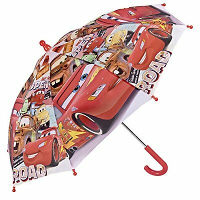 Cars Kinder Schirm - Disney Pixar Stockschirm mit Lightning McQueen - Robuste...