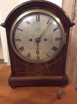 Winterhalder & Hofmeier Double Fusee Mantel Clock , S Ward, Plymouth.