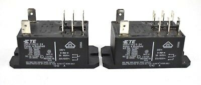TE Potter & Brumfield T92S11A22-24 Power Relay 24VAC 30A (Lot of 2)
