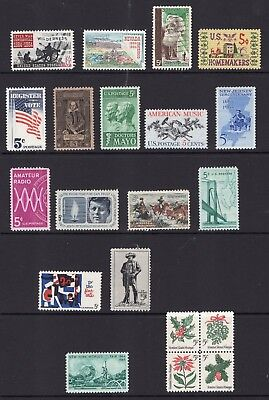 US 1964 NH Complete Year: 1181 1242-60 20v COMPARE CONTENTS - Free USA Shipping