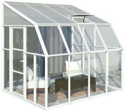 Rion Sun Room 8 ft. x 8 ft. Clear Greenhouse