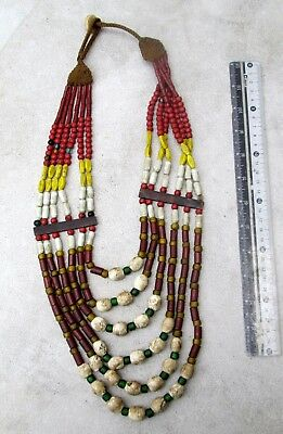 Vintage Nagaland Tribal Shaman Talisman Necklace