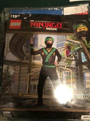 Halloween Costume Boy's Lego The Ninjago Movie Llyod  Small, Medium or Large New