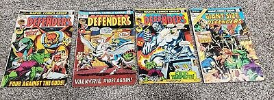 Defenders Comic Lot #3 #4 #5 #2 Giant Size