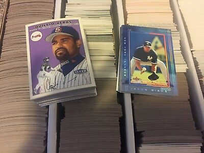 2000 2001 2002 2003  Fleer Ultra & others Complete Your Set You Pick 25 Lot