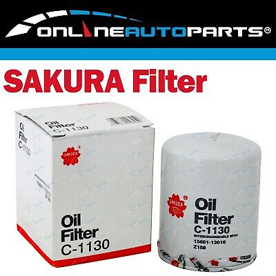 Sakura Engine Oil Filter suits Toyota Corona ST141 2.0L 4cyl 2S-C 1983~1987