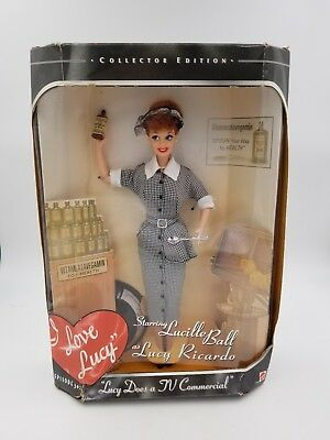 Barbie I Love Lucy Does A TV Commercial Episode 30 Collector Mattel Doll 1997