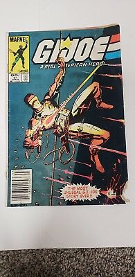 Gi Joe Real American Hero #21 1ST APPEARANCE STORM SHADOW