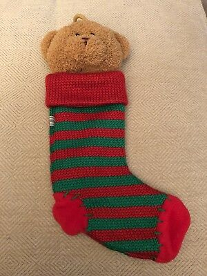 Teddy Bear Christmas Stocking Babystyle