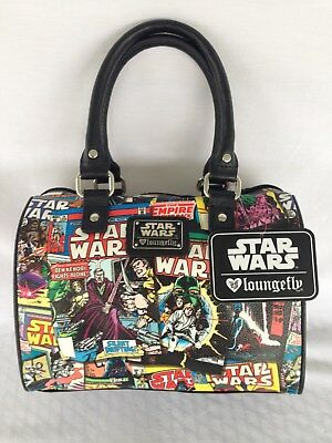 Star Wars Comic Satchel By Loungefly For Disney Parks And Resorts Nwt