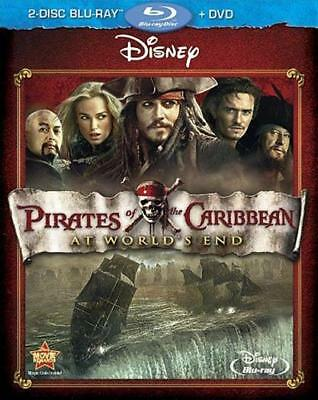 NEW - Pirates Of The Caribbean: At World's End (DVD & Blu-ray Combo)