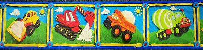 Jungle Play Time Peel &Stick Wallpaper Border Baby Monkey, Tiger, Lion Cubs