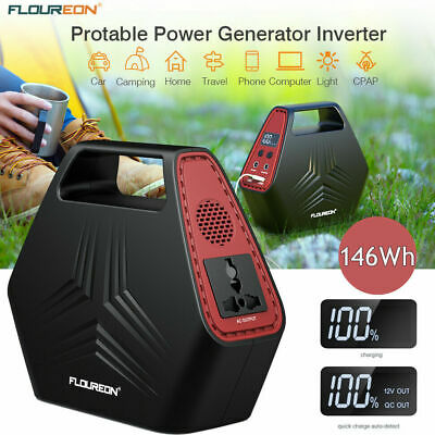 suaoki Portable Power Station Generator 150wh Quite Dual AC Output Battery Pack