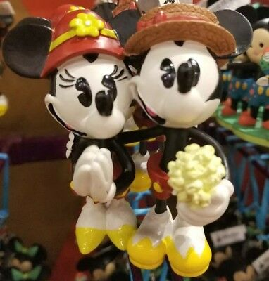Disney Parks Mickey Mouse Minnie Mouse Boardwalk 3D Christmas Ornament 2018