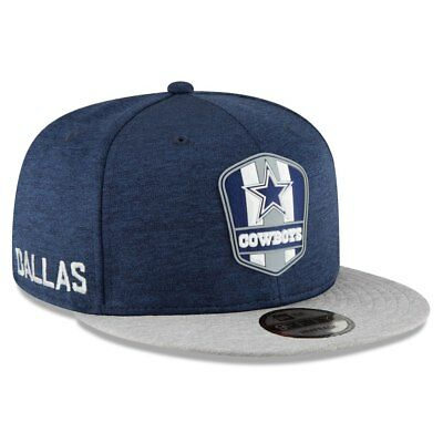 b677dc3e13020 Dallas Cowboys 2018 Nfl New Era 9Fifty On Field Sideline Road Snapback Hat  Cap