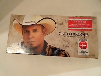 Garth Brooks - The Ultimate Collection Exclusive 10 Cd Disc Box Set Sealed New