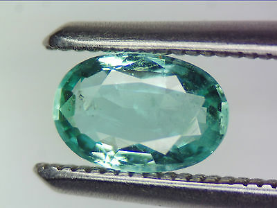 0.39 Ct Natural Emerald Oval Cut Lot Loose Gems Zambian Bluish Green 6.03 X 4.05