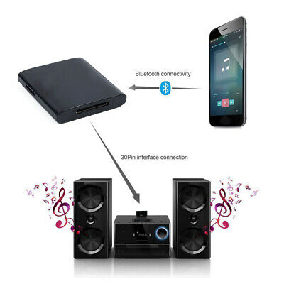 Bluetooth Adapter 4.1 Music For IPod IPhone 30 Pin Dock Speaker Supports A2DP