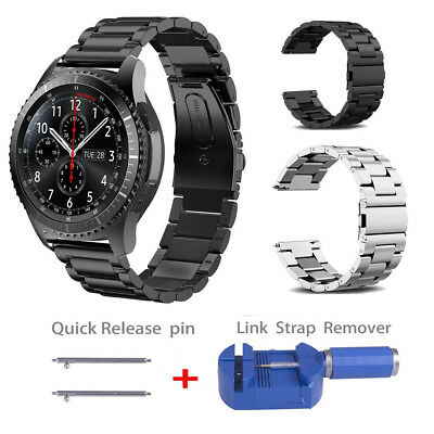 Stainless Steel Watch Band Metal Strap For Samsung Gear S3 Frontier S3 Classic