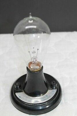 Nice Mazda Edison Lamp Light Bulb 100 Yr Commemorative Ge For Managers Replica