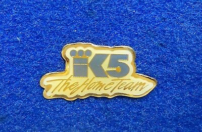 Seattle KING 5 The Home Team NBC Tv Television K5 Logo Media Lapel Pin z3