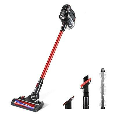 MAXKON Cordless Stick Vacuum Cleaner Multi-Cyclonic Filters Electric Turbo Brush