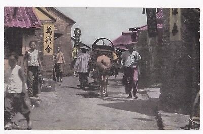 Chefoo China Street View 1910 Excellent B6