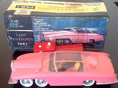 Vintage Lady Penelope's FAB 1 A JR 21 TOY 1960's MIB GERRY ANDERSON THUNDERBIRDS