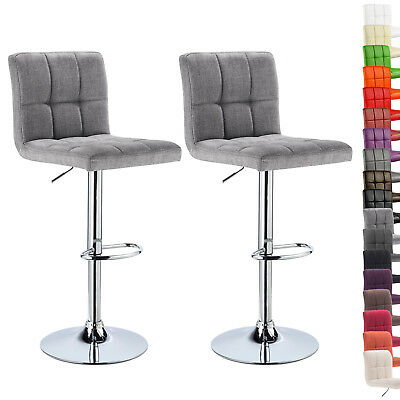 Kitchen Breakfast Counter Chairs Bar Stools Set Of 1 Or 2 Gas Barstools Ubst004
