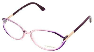 3257c94d7bf0 AUTHENTIC TOM FORD FT5212 - 074 Eyeglasses Purple  NEW  55mm ...