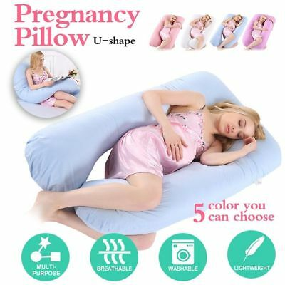 Comfortable Body Pillow Pregnant Women Best for Side Sleeper Belly Waist SuppoUS
