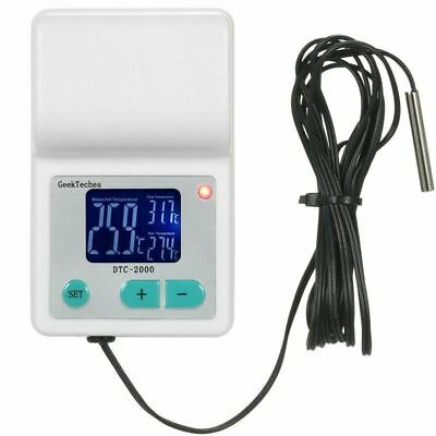 GeekTeches DTC-2000 AC110-240V 10A Digital Thermometer Thermoregulator Water Tem