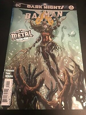 Dark Nights Metal Batman The Drowned #1 1st Print Metal Tie-in DC Comics