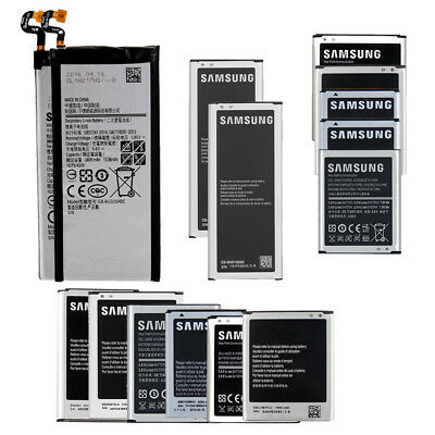 New Battery Replacement For Samsung Galaxy S3 S4 S5 S6 S7 Note 1 2 3 4 5 Edge