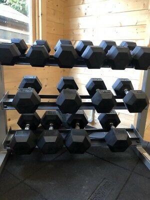 Commercial Free Weights & Rack Stand