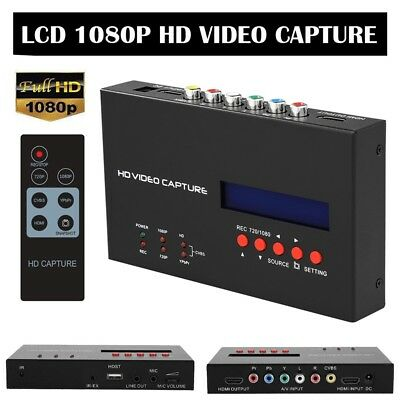 Ezcap283S TV Game HD Video Capture Box HDMI 1080P Video Capture Card with Remote