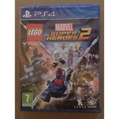 LEGO Marvel Super Heroes 2 (PS4) UK STOCK New and Sealed Superheroes