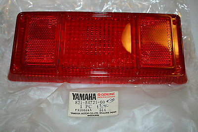 nos Yamaha snowmobile tail light lens gpx433 srx440 ex440 340 et250 gp sl sw sm