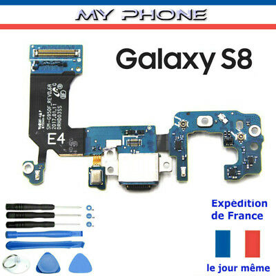 Connecteur de CHARGE GALAXY S8 SAMSUNG Micro Port USB Nappe SM-G950F Outils