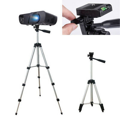 1x Extendable Tripod For Camera DLP Mini Projector Stand Mount Aluminum Alloy