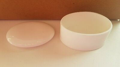 Brand New White Oval Trinket Boxes Box Of 40 Made In The Potteries