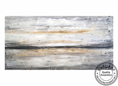 GUDI- Huge Hand-Painted Abstract Art Oil Painting Modern Home Decor Canvas Wall