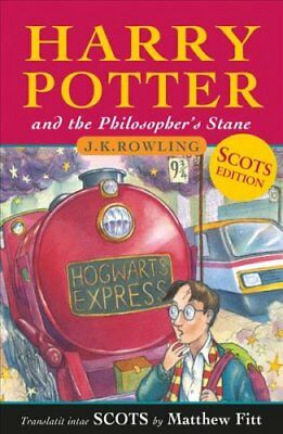 Harry Potter and the Philosopher's Stane by J. K. Rowling (2018, Paperback)