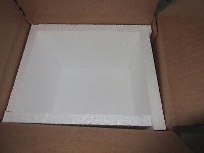 10 by 10 by 8 Inch Insulated Shipping Box, pre owned